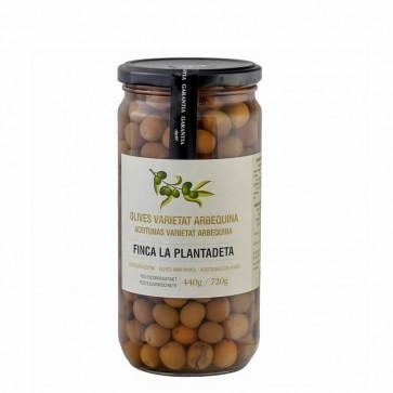 Arbequinas olives Plantadeta 500gr